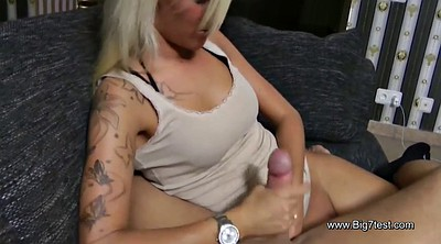 Movie, Step sister, Massage handjob, Cock massage