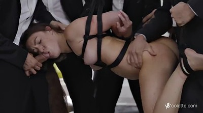 Double penetration, Submission