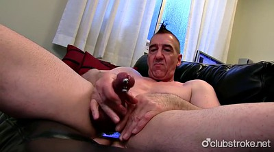 Jerked off, Daddy, Chained, Mature gay, Chain