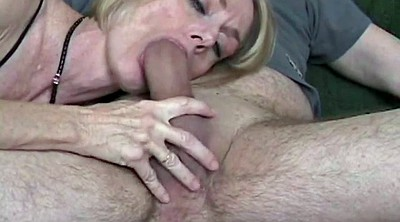Cum swallow, Cumming, Granny blowjob