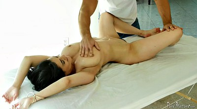 Massage, Hairy mom, Chase, Big dick, Mom massage