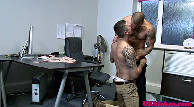 Muscle, Gay office, Office gay, Officer