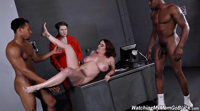 Prison, Prisoner, Bbw chubby, Bbw ebony, Interracial orgy, Interracial chubby