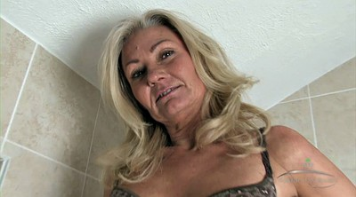 Granny solo, Hairy pussy solo, Hairy mature