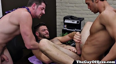 Muscle, Office gangbang