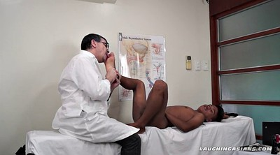 Doctor, Tickle, Young asian, Tickling