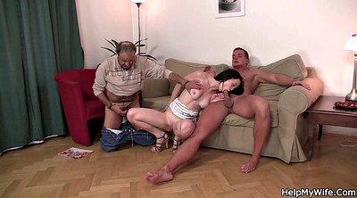 Older, Young man, Wife swapping, Wife swap, Swap wife