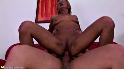 Moms, Granny boy, Mom boy, Surprise, Moms boys, Mom creampie