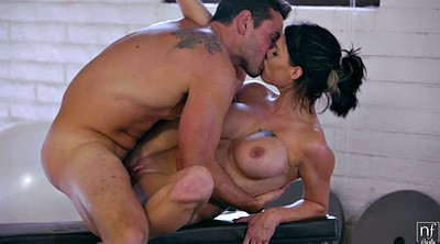 Peta jensen, Busty ebony, Black gym