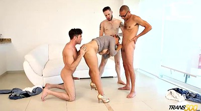 Gangbang, Transsexuals