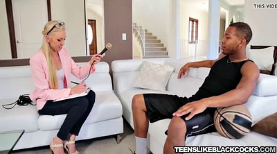 Interview, Teen bbc, Blonde teen interracial, Bbc teen, Bbc teens