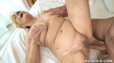 Milf, Old woman, Granny hairy