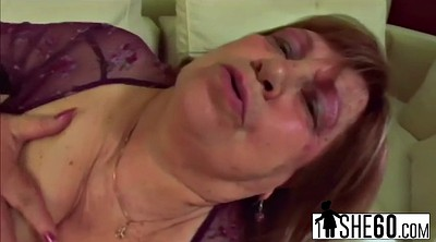 Mature bbw, Granny masturbation