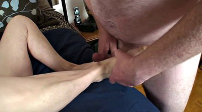 Milfs, Foot job, Mature feet
