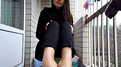 Chinese teen, Chinese foot, Chinese feet, Asian foot, Chinese fetish, Chinese f