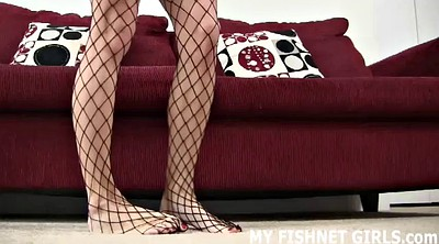 Funny, Fishnet, Pantyhose stockings, Pantyhose femdom