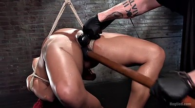 Fist squirt, Fisting dildo, Dildo squirting, Black bondage, Hanging, Ebony orgasm