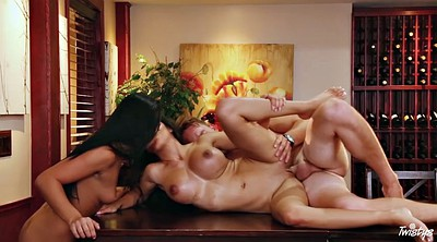 Ass lick, Two, Asian threesome, Asian slut, Threesome asian, Sushi