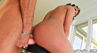 Brutal anal, Brutal, Anal toy, Double blowjob, Doggy style
