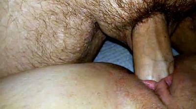 Big clit, Wife creampie, Closeup