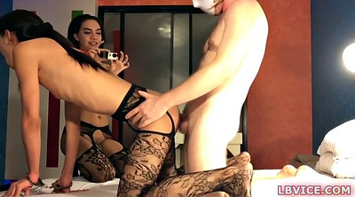 Ladyboy, Shemale threesome