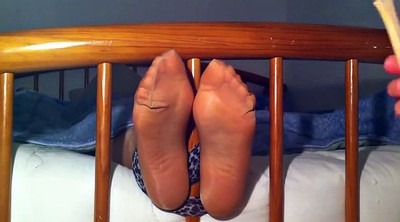 Tickle, Nylon, Nylon foot, Tickling, Nylon fetish, Nylon feet