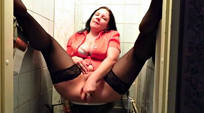 Toilets, Stockings mature, Mature stocking, Masturbation toilet, Toilet masturbate, Stocking milf