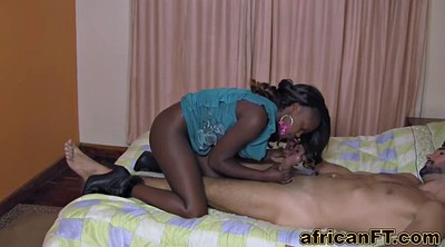 Big black cock, African, White tits