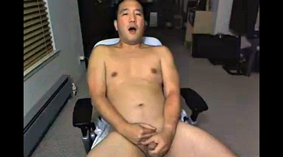 Daddy, Dads, Gay dad, Webcam masturbation, Voyeur masturbating, Asian daddy