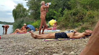 Grandpa, Beach, Old grandpa, Nudist beach