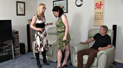 Uncle, Aunt, Spanks, Plump, Spanking girl, Girl spanking