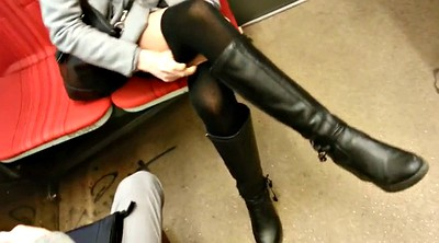 Leg, Candid, Subway