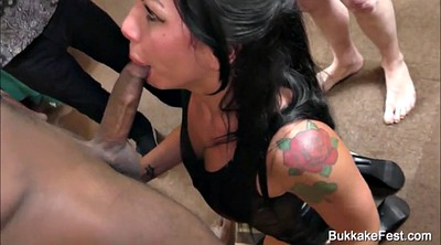 Gina, Sex party, Amateur gangbang