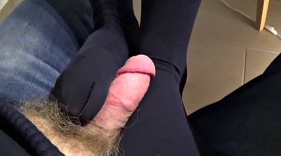 Nylon foot, Under the table, Under table, Nylon feet