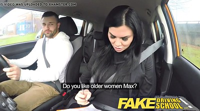 Fake driving, Young busty, Schools, Driving school, Drive