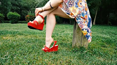 Shoe, Red