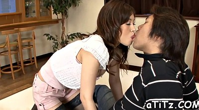 Japanese big tits, Japanese blowjob