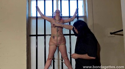 Tied up, Prison, Tied, Whore