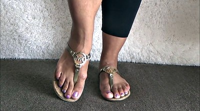 Feet, Flashing