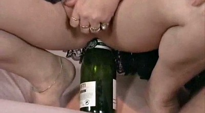 Bottle, Vintage mature, Mature fisting, Women