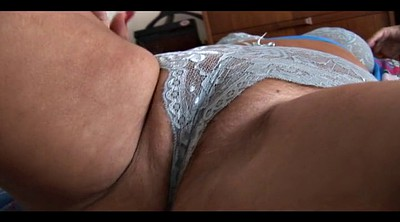 Tied, Chubby mature, Hairy granny