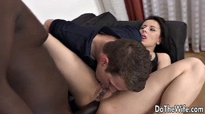 Interracial, Wife anal