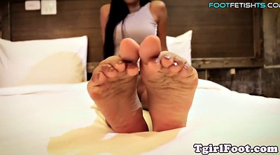 Beauty solo, Oriental, Asian feet