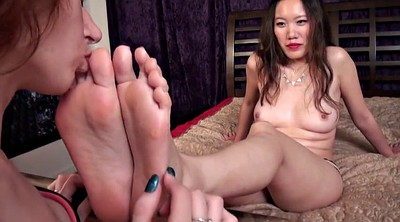 Chinese lesbian, Asian lesbian, Chinese foot, Lesbian foot worship