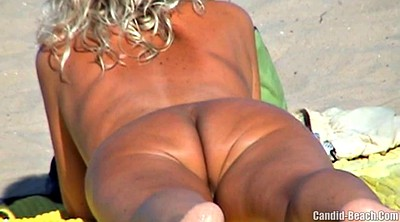 Mature nudist, Beach nudist