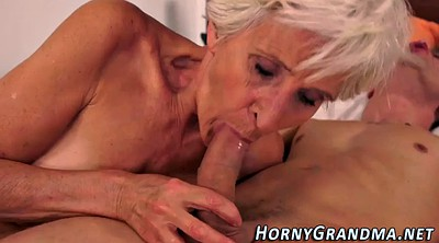 Grandmother, Cum in mouth