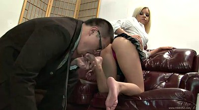 Foot worship, Worship feet, Blond big tits, Tessa, Feet worship