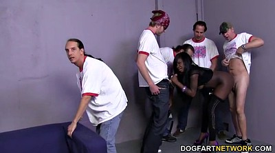 Foxx, Ebony gangbang, Interracial dp