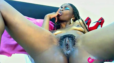 Squirt, Teen masturbation, Black pussy, Teen squirt, Creamy pussy