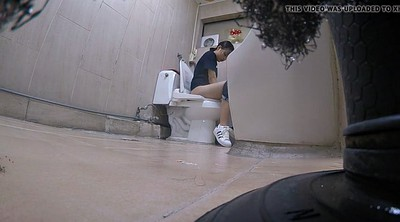 Korean, Toilet, Korean teen, Toilet voyeur, Korean girl, Asian toilet